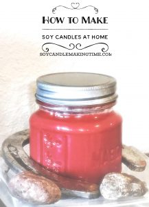 How To Make Soy Candles at Home in Mason Jars
