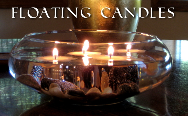 soy floating candles how to make