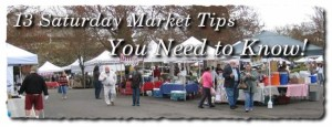 Saturday Market Tips