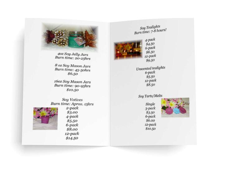 candle-brochure-ideas