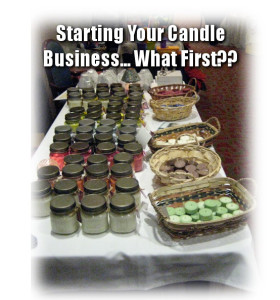 Starting Your Candle Business