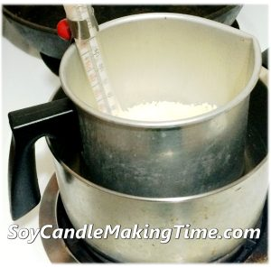 Melting Soy Wax Double Boiler