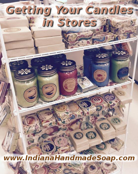 Tips to sell your candles in stores