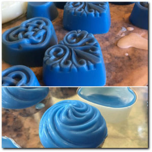 Fancy Soy Wax Melts with P-100 soy wax