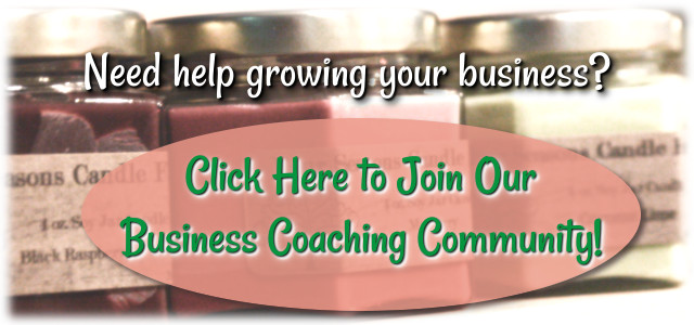 Candle Making Business Coaching and Community